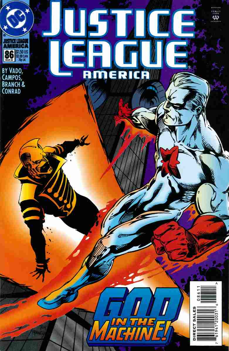 Justice League America comic issue 86