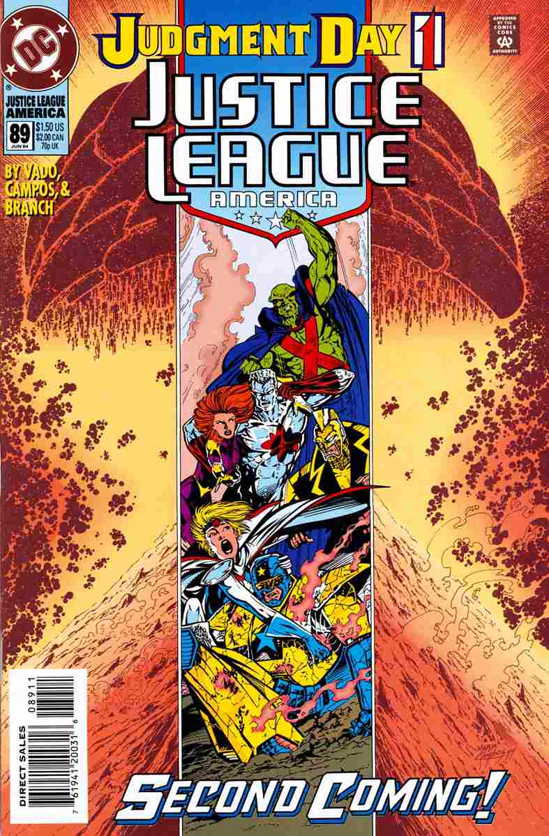 Justice League America comic issue 89