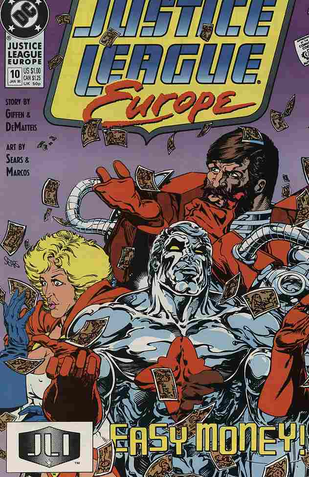 Justice League Europe comic issue 10
