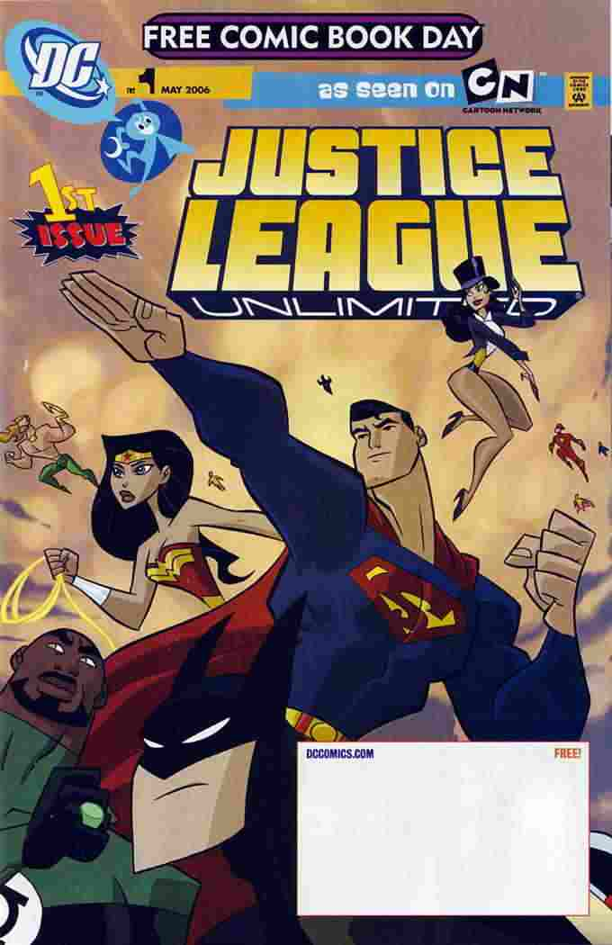 Justice League Unlimited comic issue 1