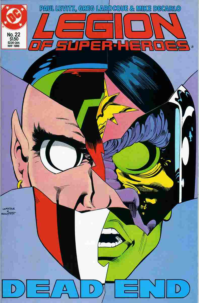 Legion of Super-Heroes (3rd Series) comic issue 22