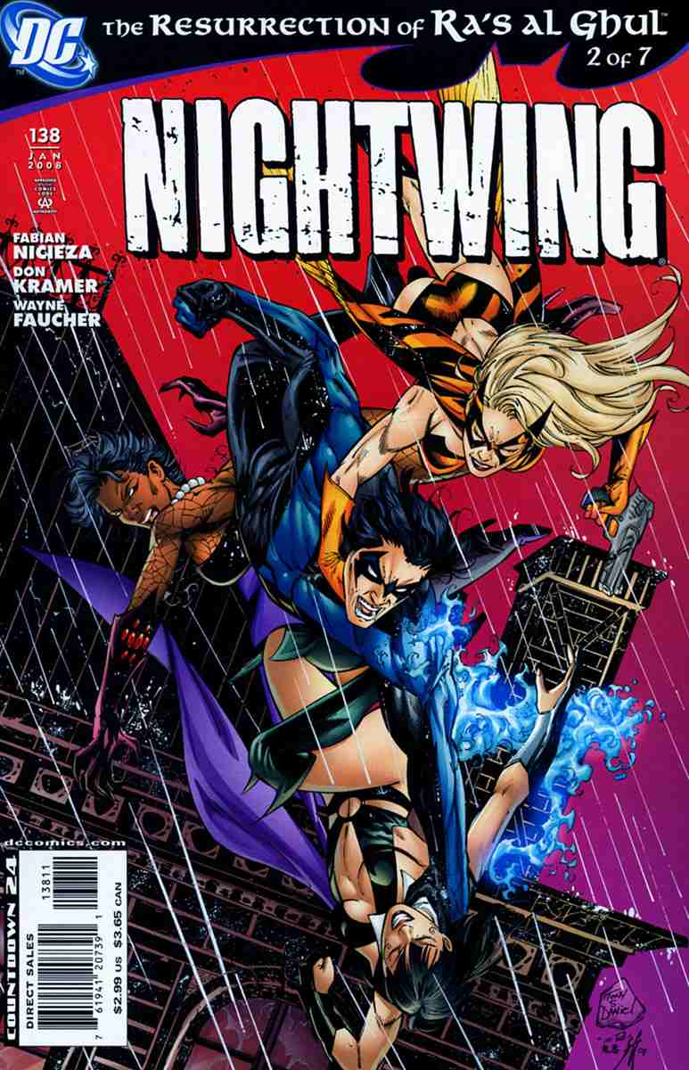 Nightwing comic issue 138