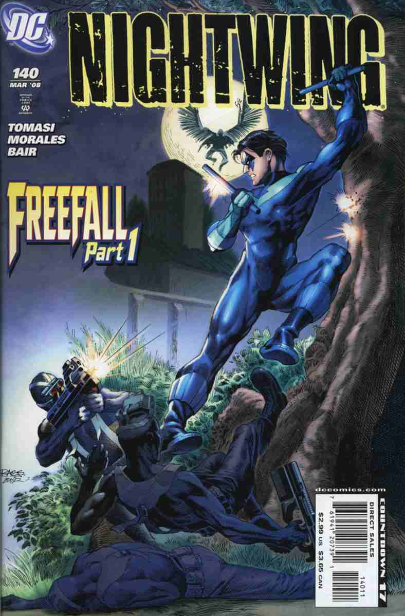 Nightwing comic issue 140