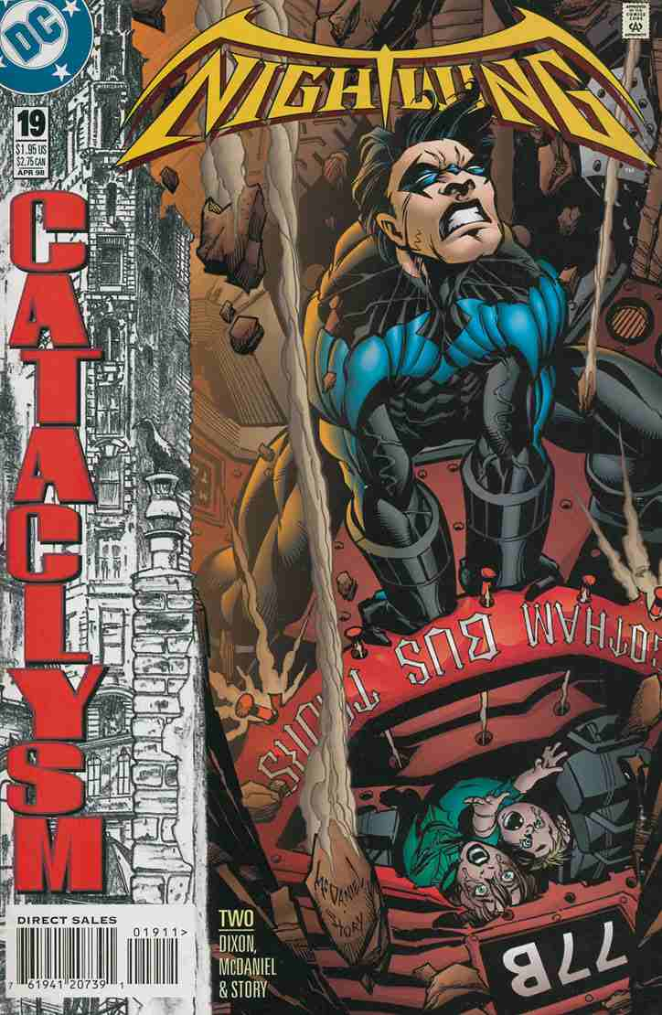 Nightwing comic issue 19
