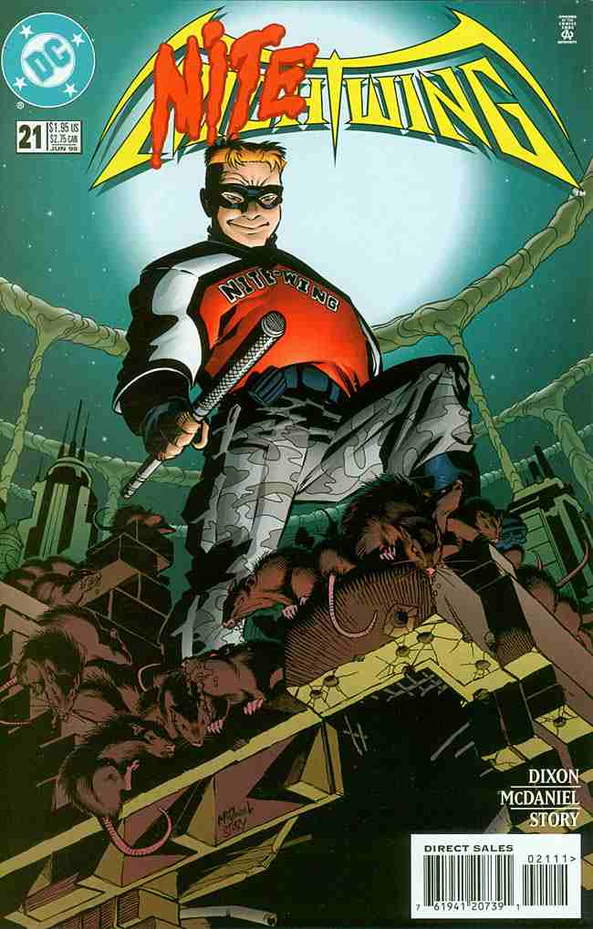Nightwing comic issue 21