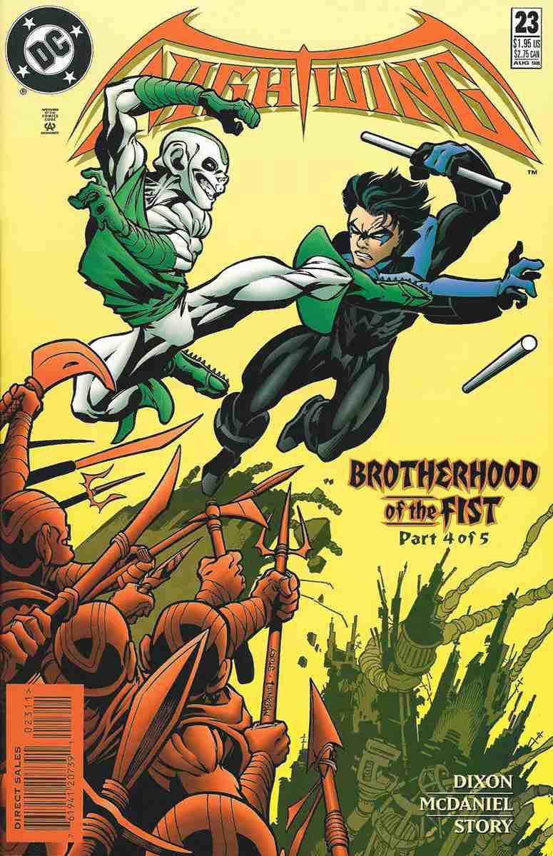Nightwing comic issue 23