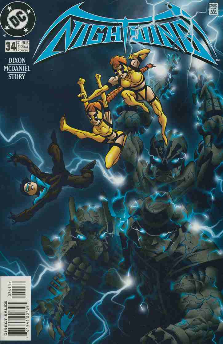Nightwing comic issue 34