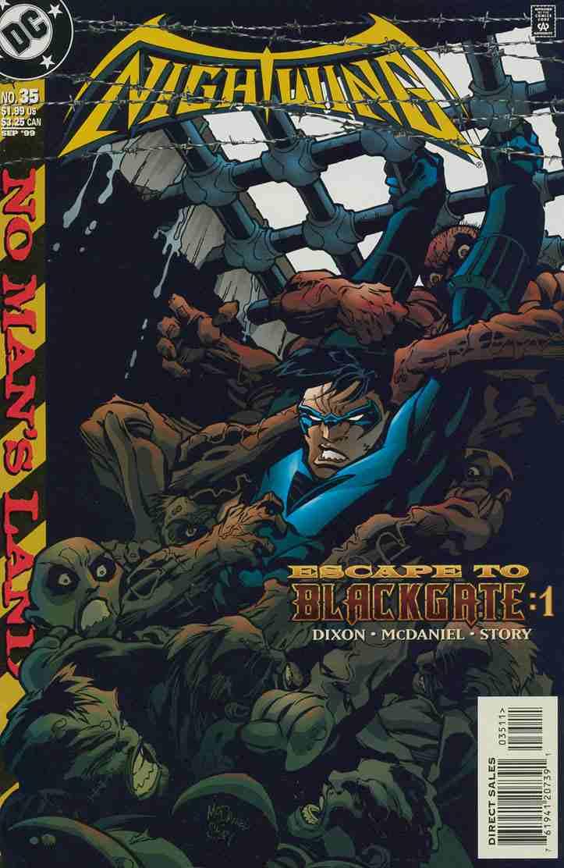 Nightwing comic issue 35
