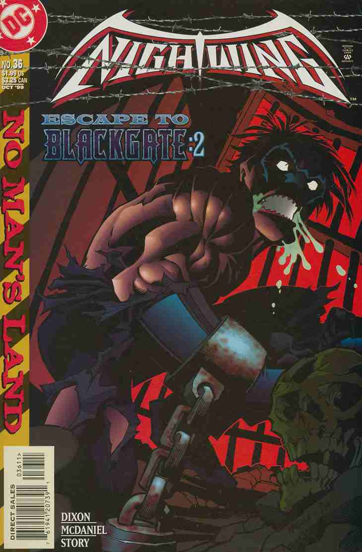 Nightwing comic issue 36