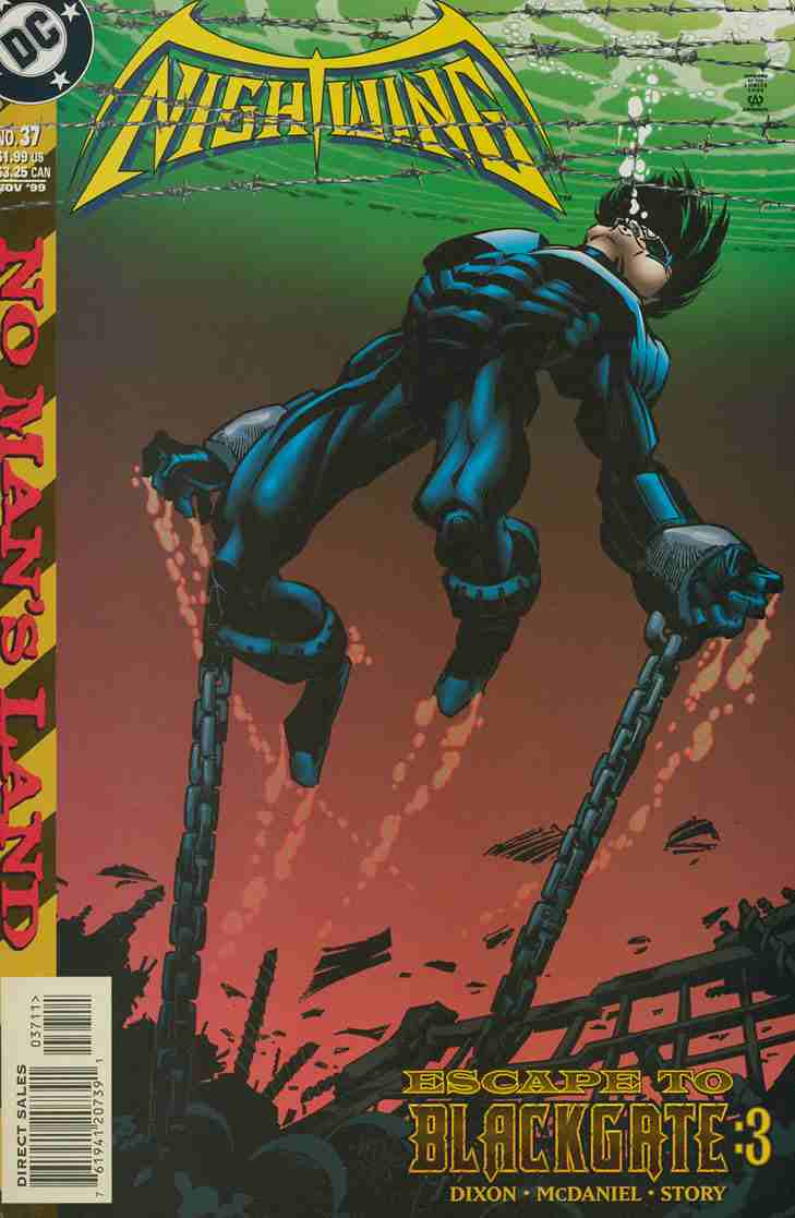 Nightwing comic issue 37