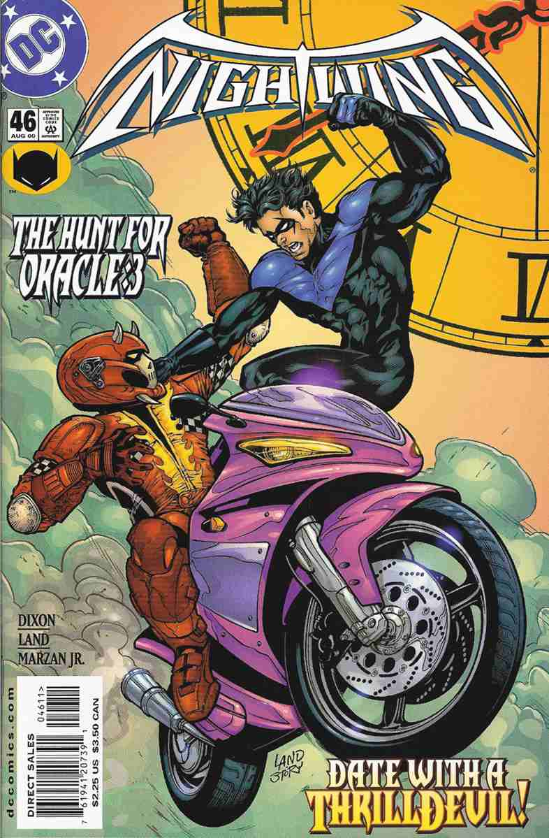 Nightwing comic issue 46