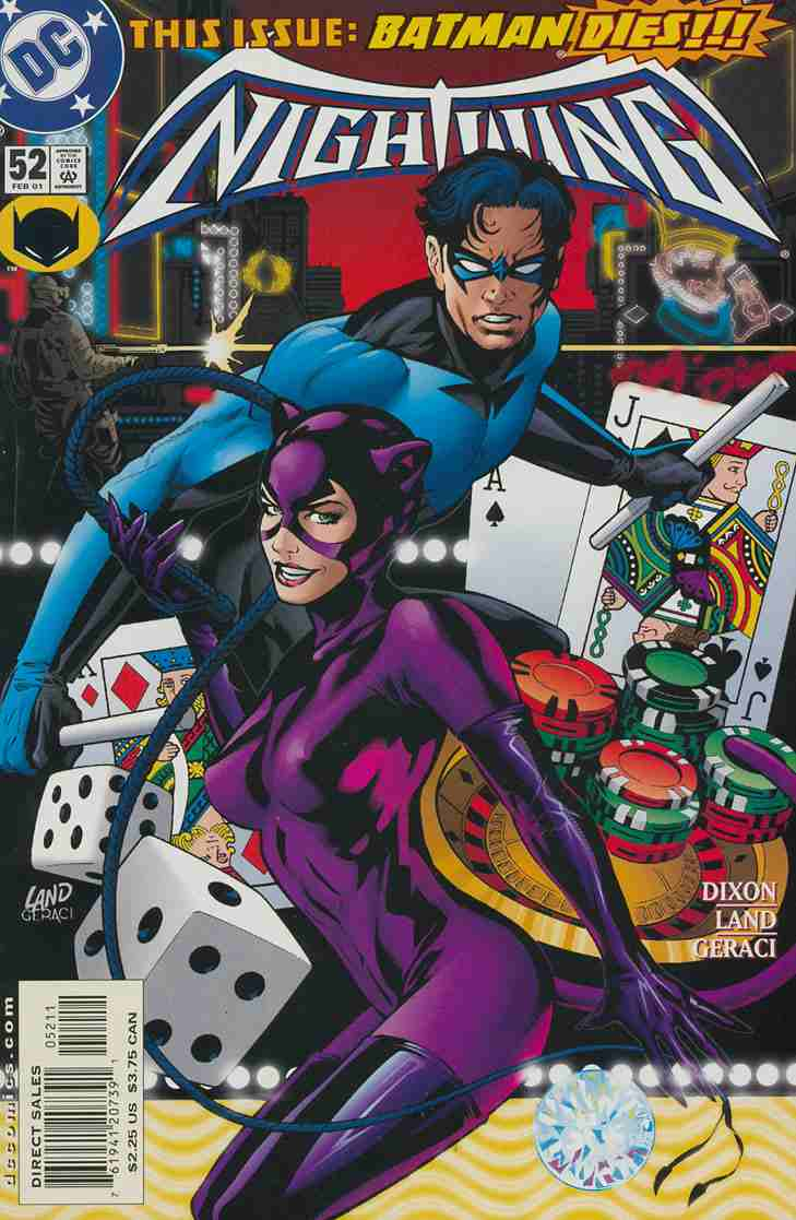 Nightwing comic issue 52