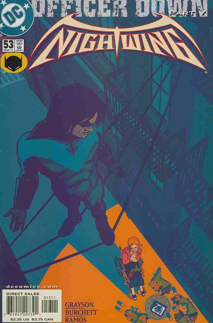 Nightwing comic issue 53