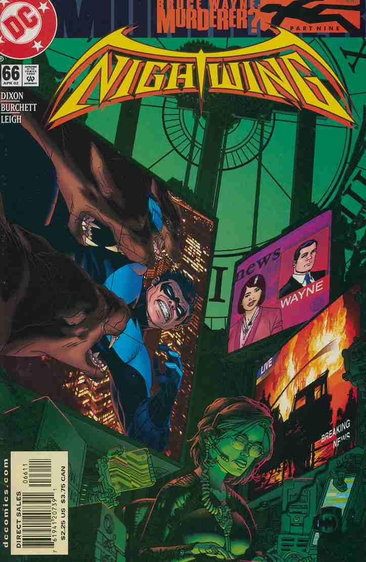 Nightwing comic issue 66