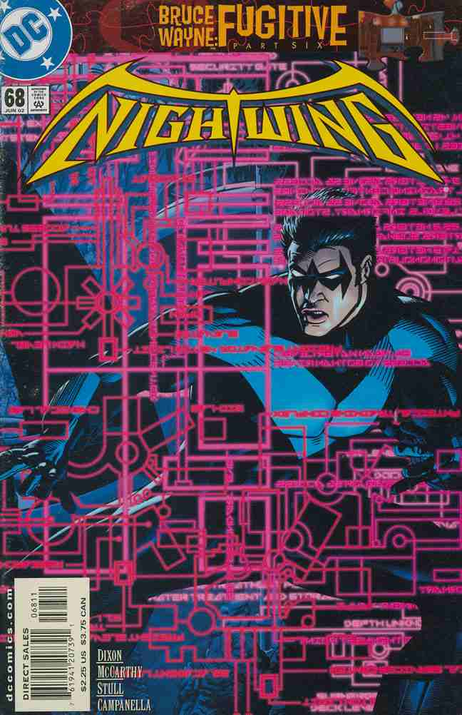 Nightwing comic issue 68