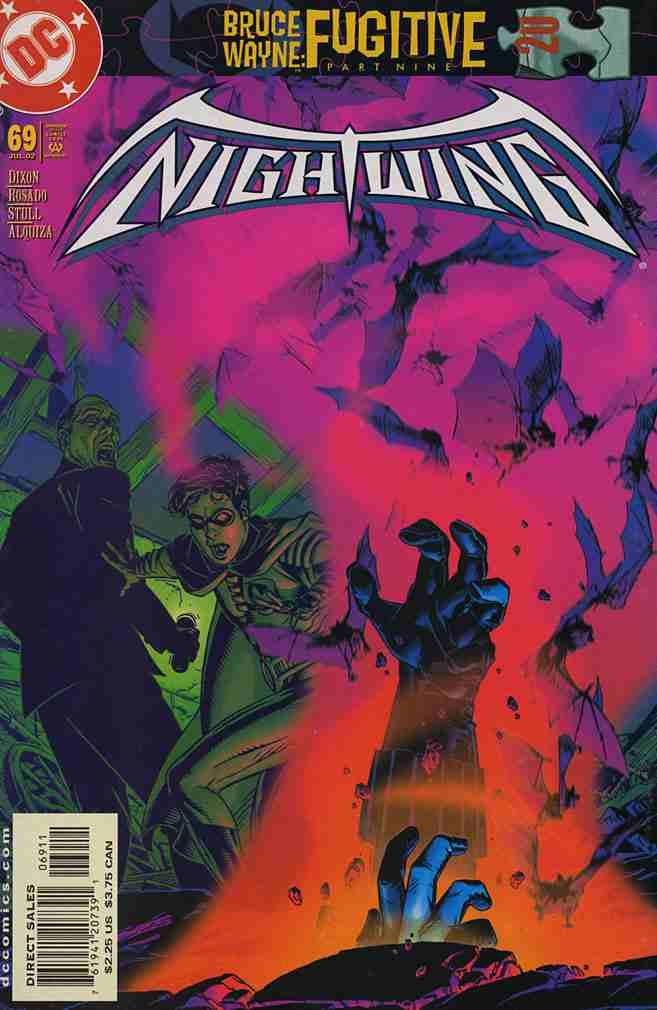Nightwing comic issue 69