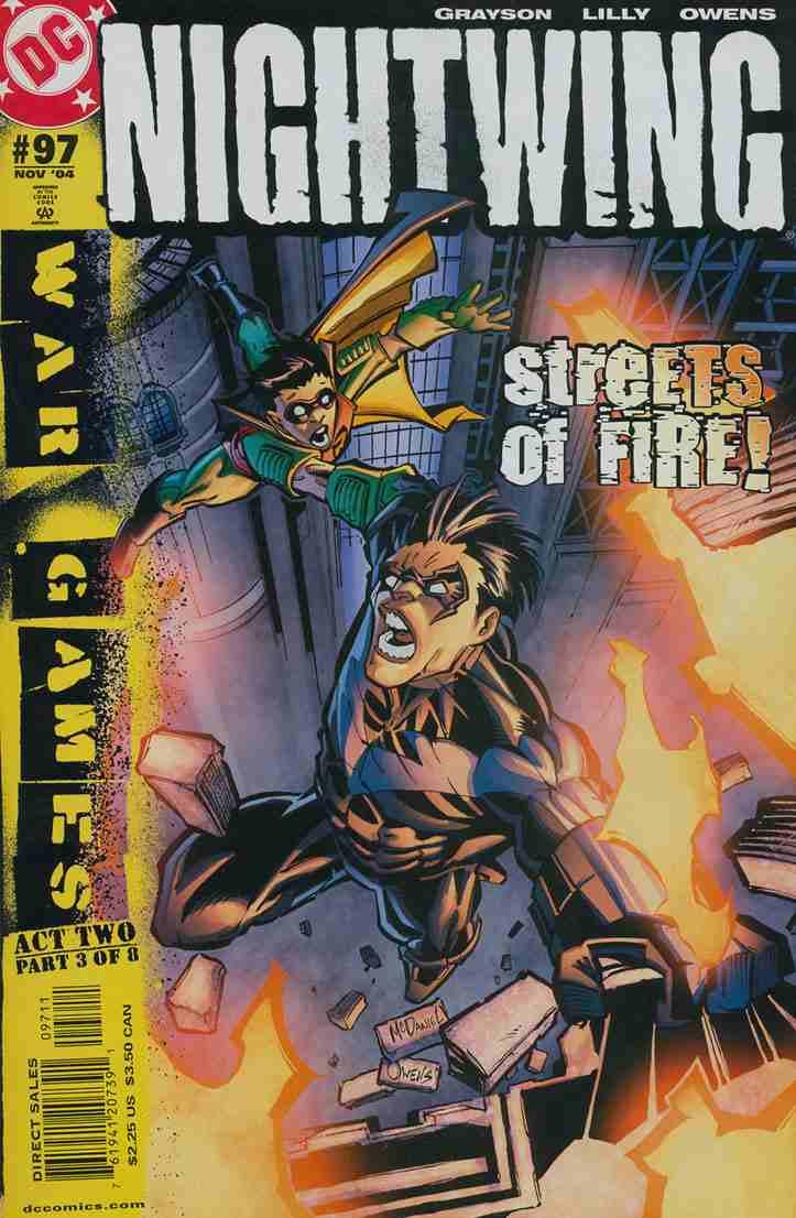 Nightwing comic issue 97