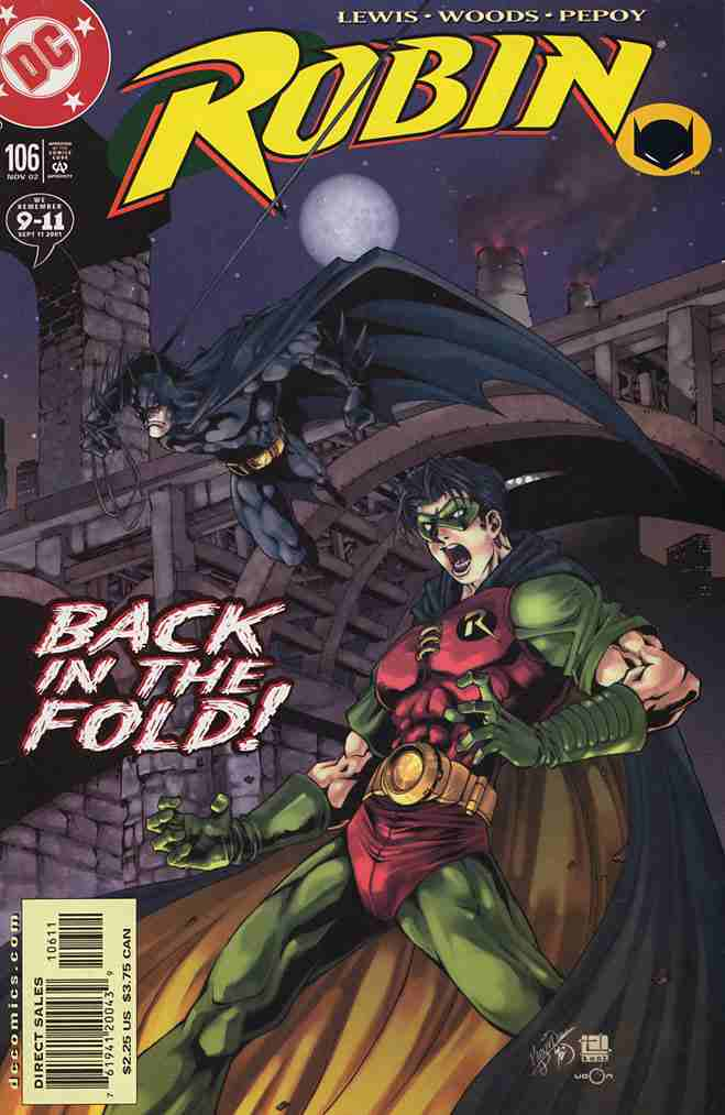 Robin comic issue 106