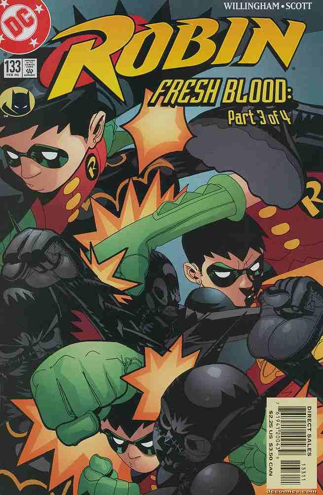 Robin comic issue 133