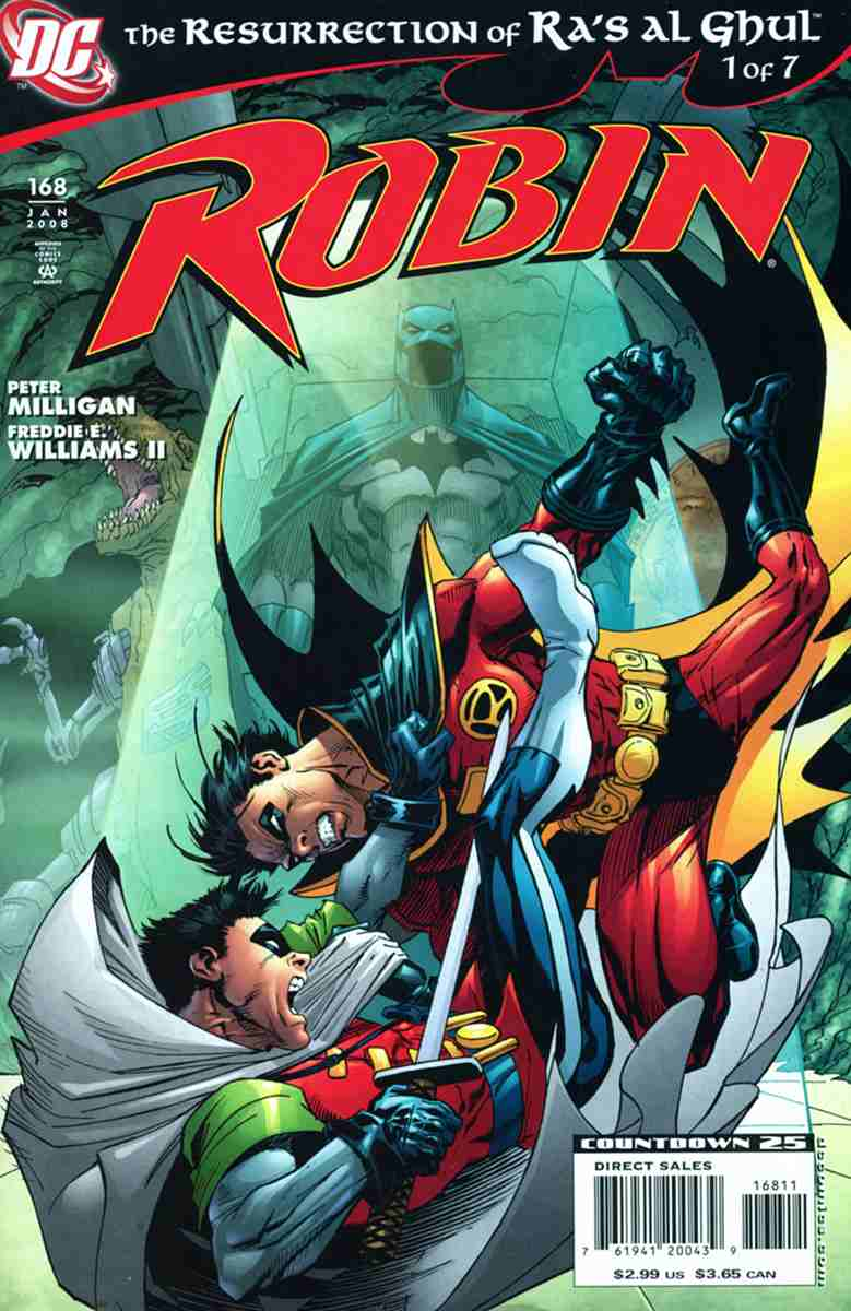 Robin comic issue 168