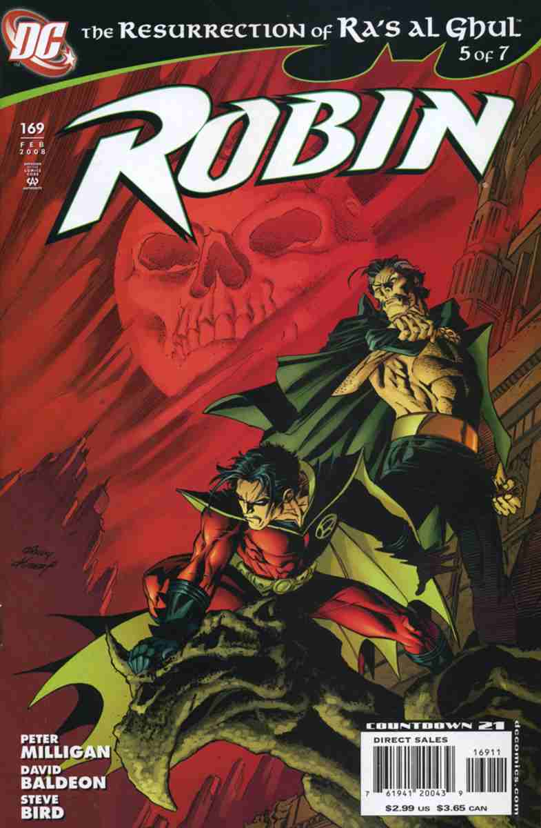 Robin comic issue 169