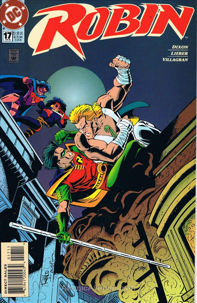 Robin comic issue 17