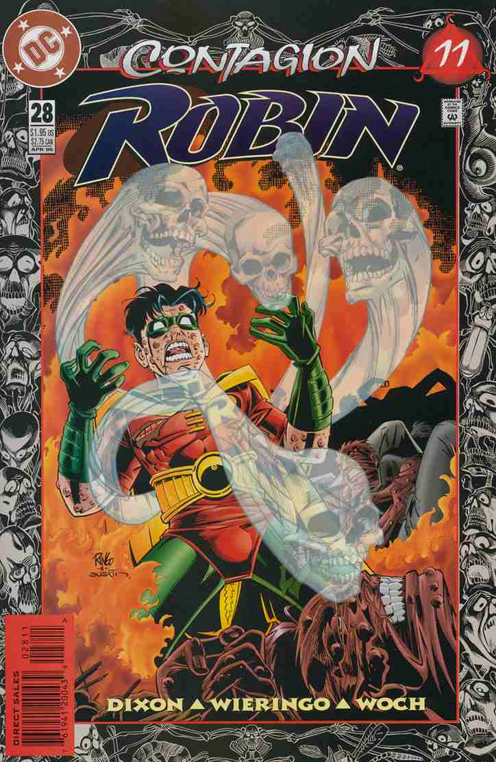 Robin comic issue 28