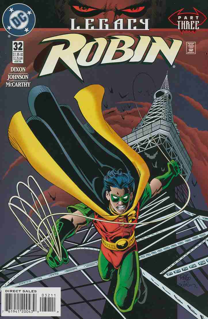 Robin comic issue 32