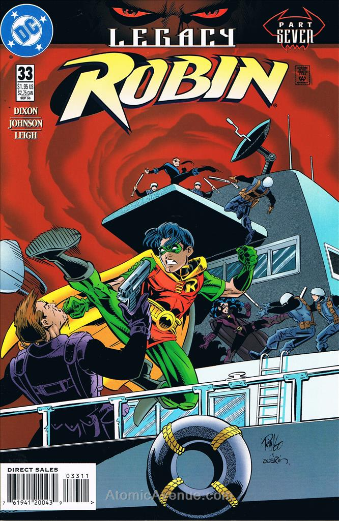 Robin comic issue 33