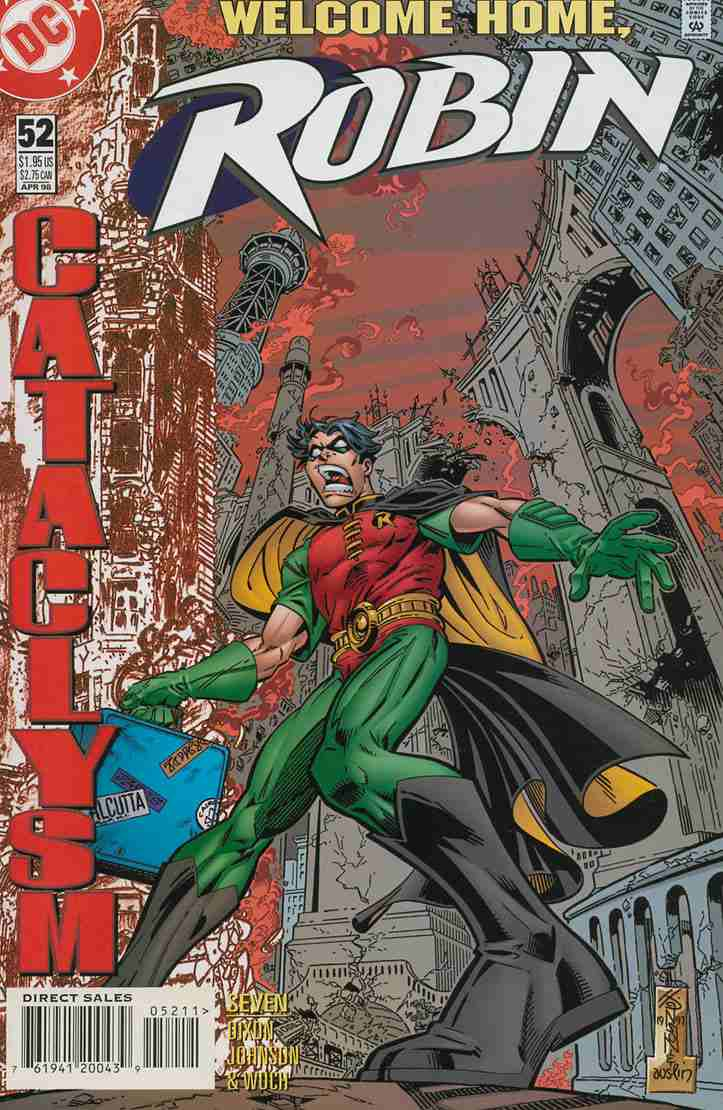 Robin comic issue 52