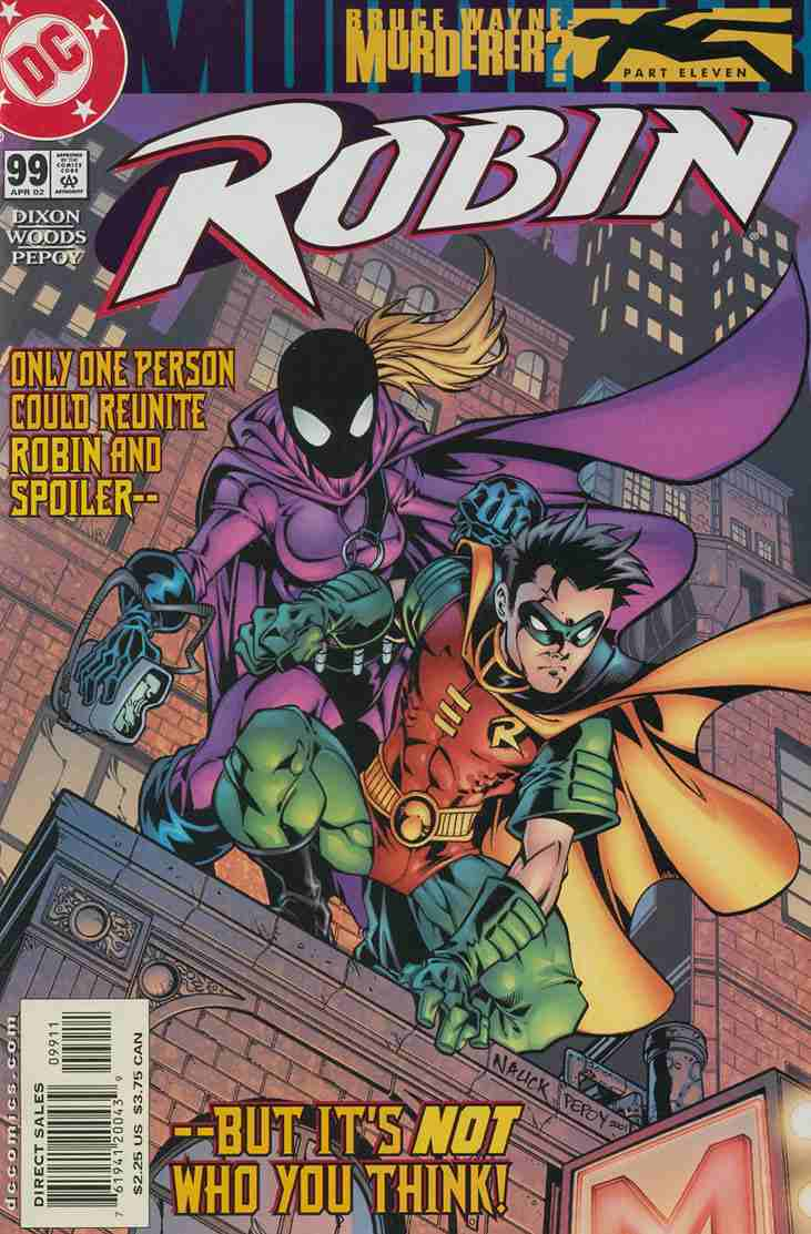 Robin comic issue 99