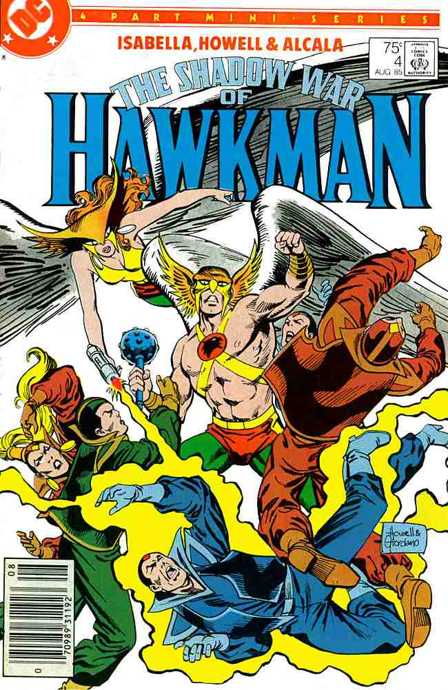 Shadow War of Hawkman, The comic issue 4