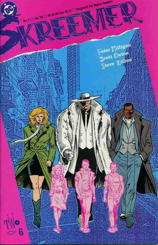 Skreemer comic issue 2
