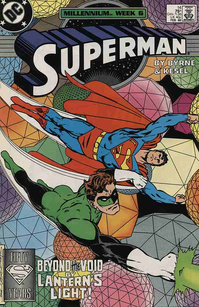 Superman (2nd Series) comic issue 14