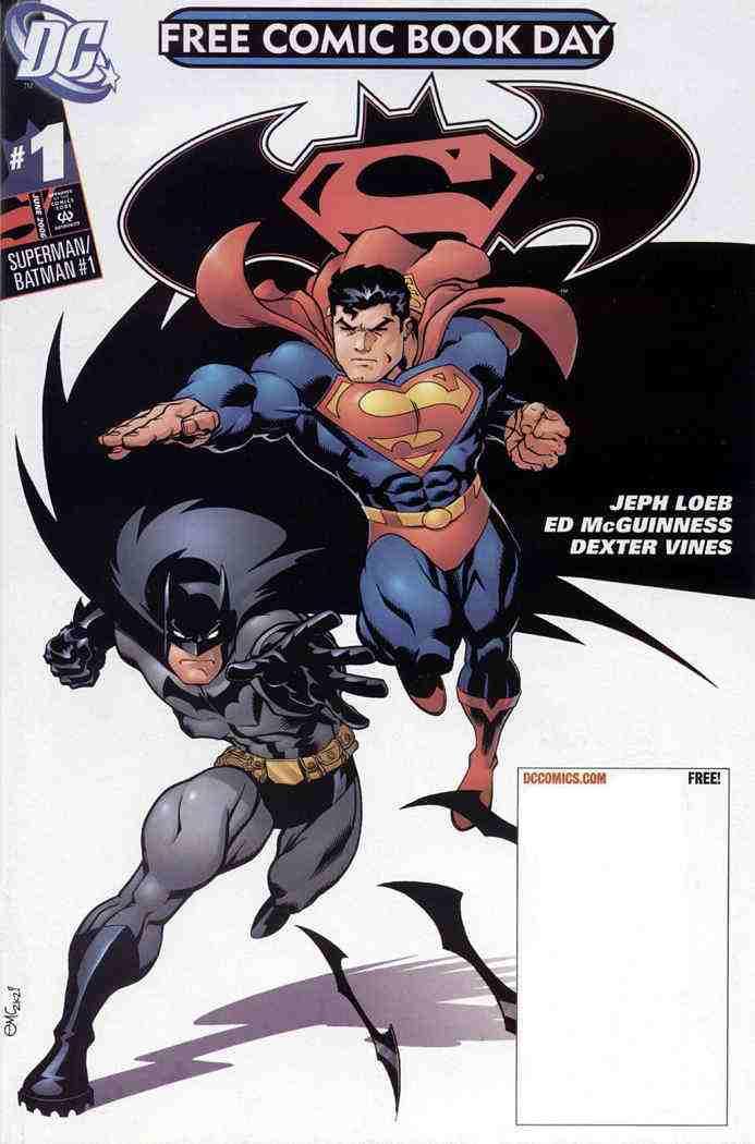 Superman/Batman comic issue 1