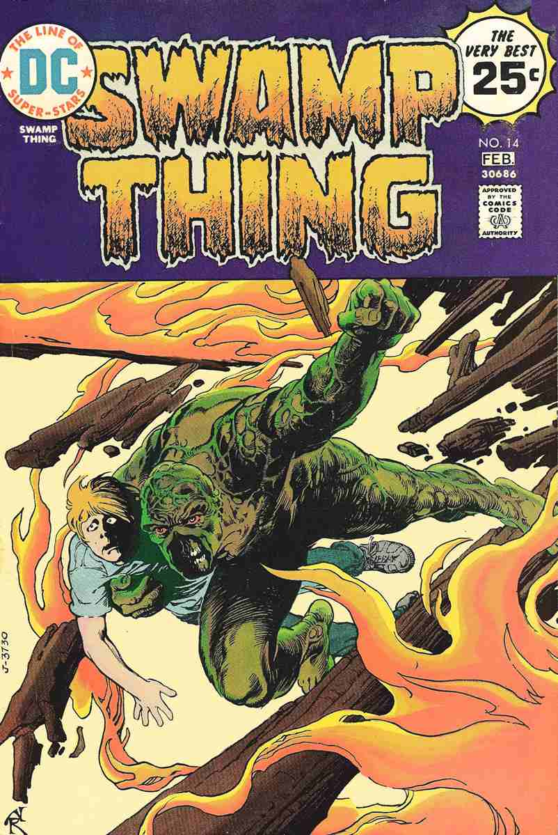 Swamp Thing (1st Series) comic issue 14