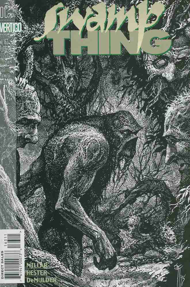 Swamp Thing (2nd Series) comic issue 163