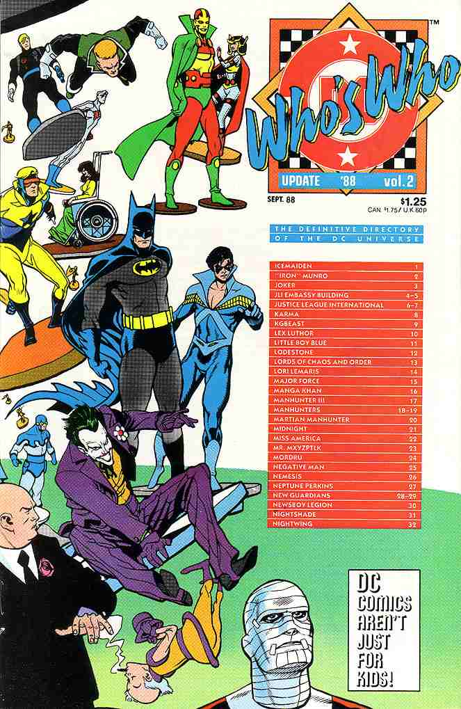 Who's Who Update '88 comic issue 2