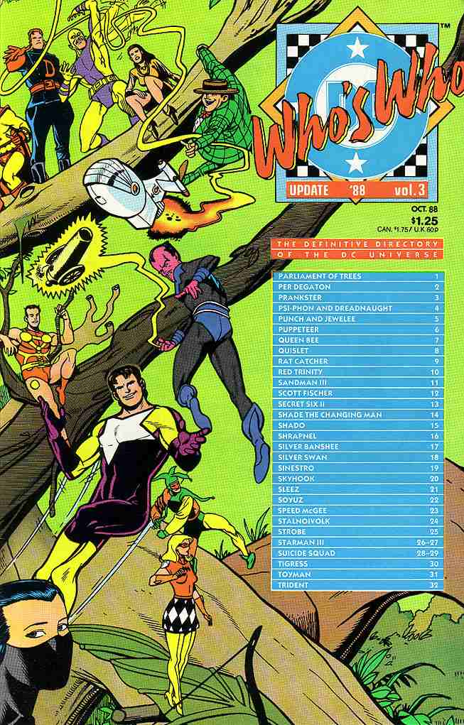 Who's Who Update '88 comic issue 3