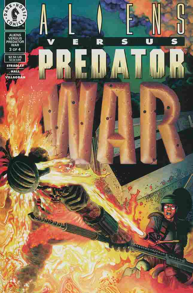 Aliens vs. Predator: War comic issue 3