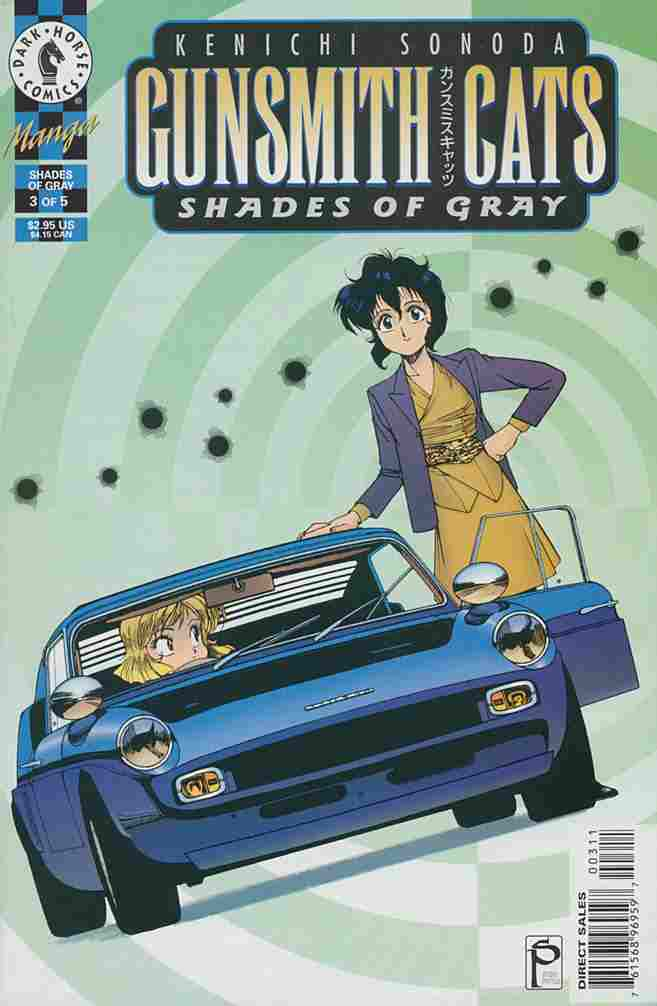 Gunsmith Cats: Shades of Gray comic issue 3