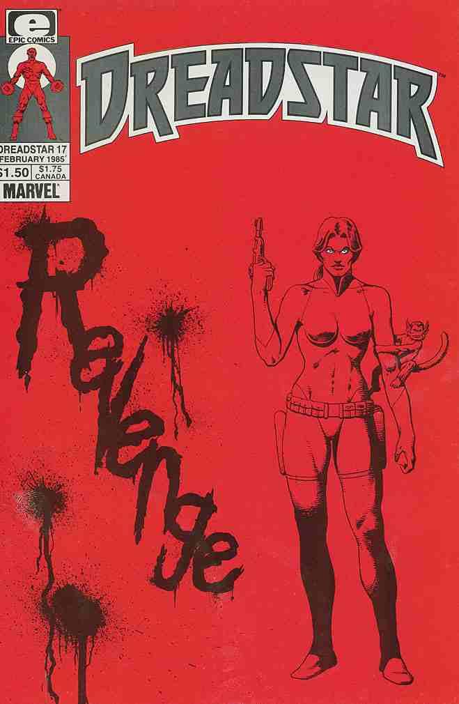 Dreadstar comic issue 17