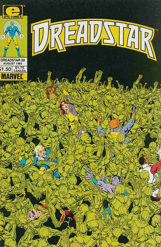Dreadstar comic issue 20