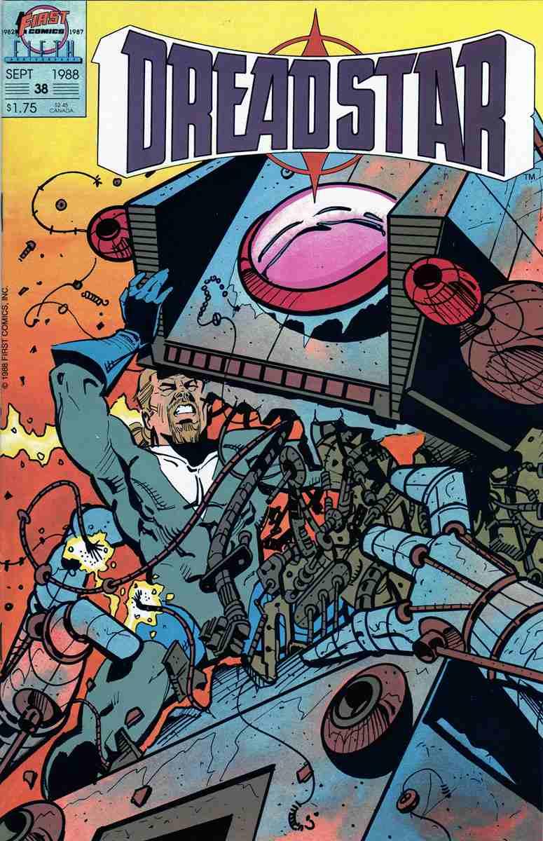 Dreadstar comic issue 38