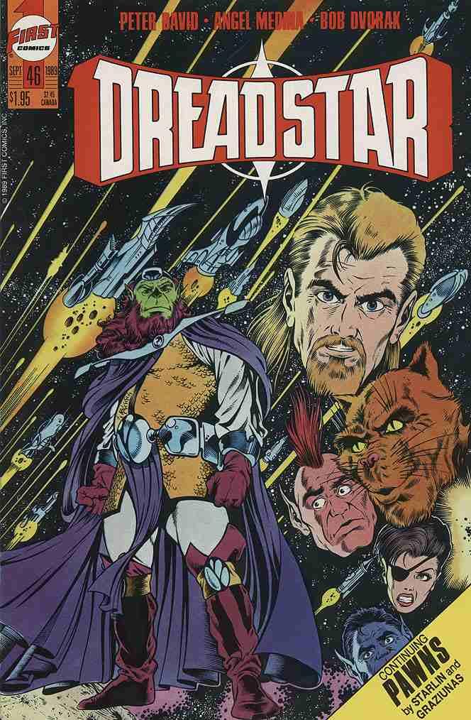 Dreadstar comic issue 46