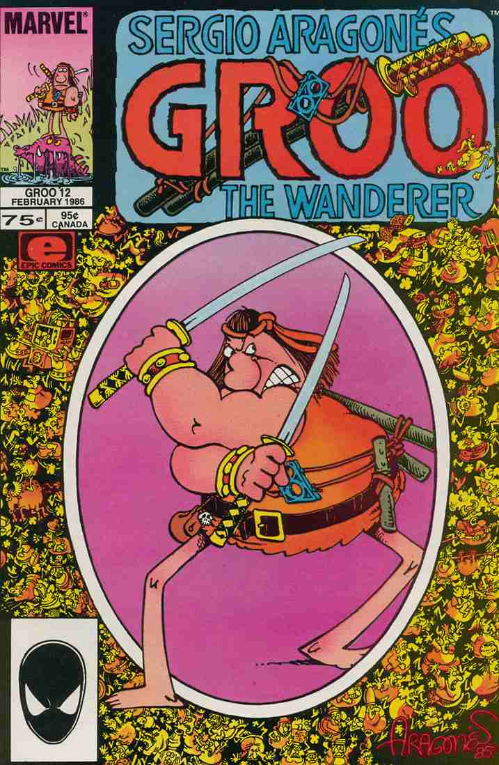 Groo the Wanderer comic issue 12