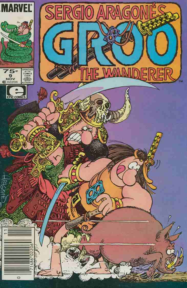 Groo the Wanderer comic issue 9