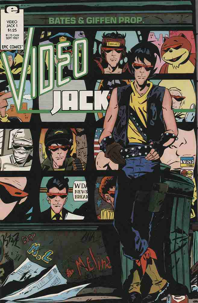Video Jack comic issue 1