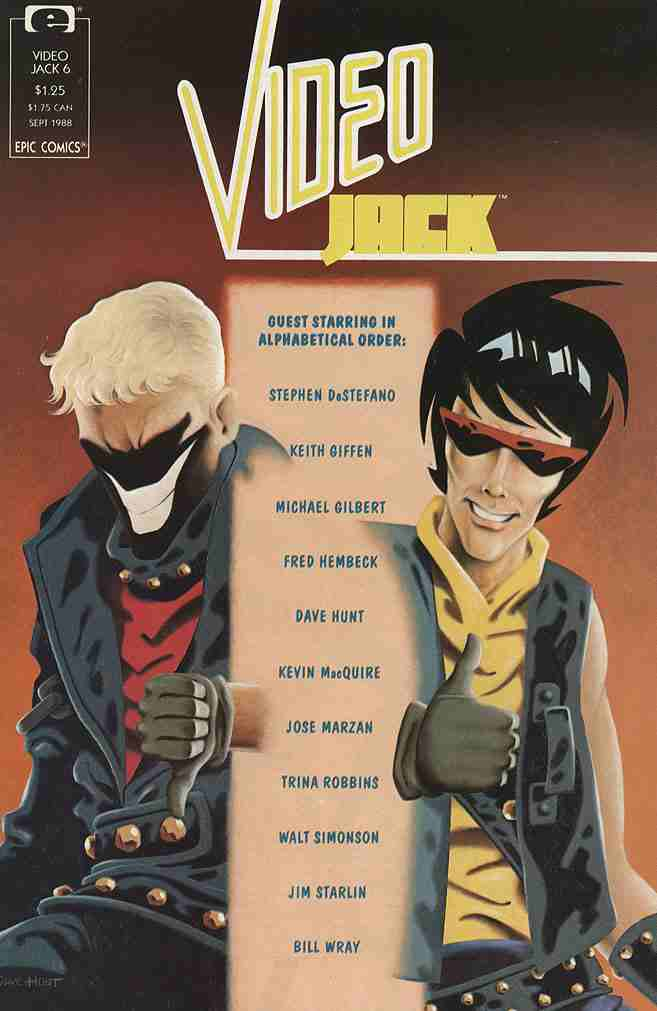 Video Jack comic issue 6