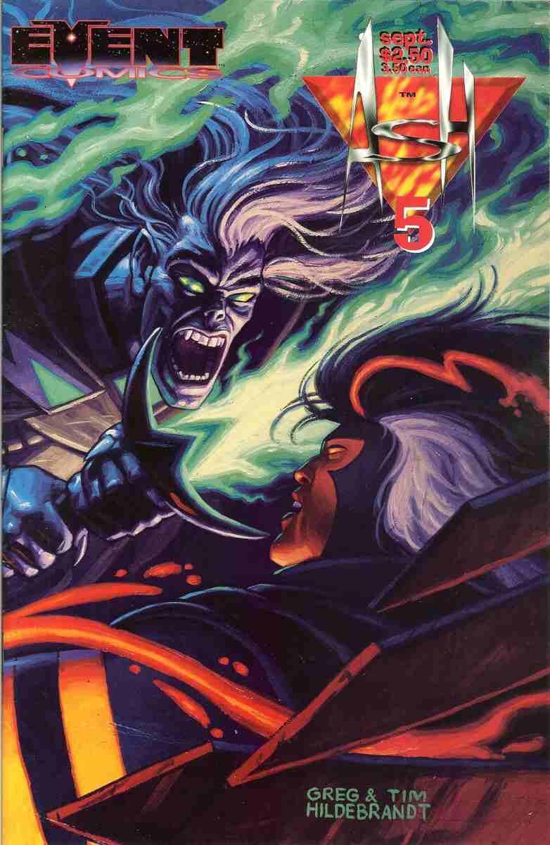 Ash comic issue 5